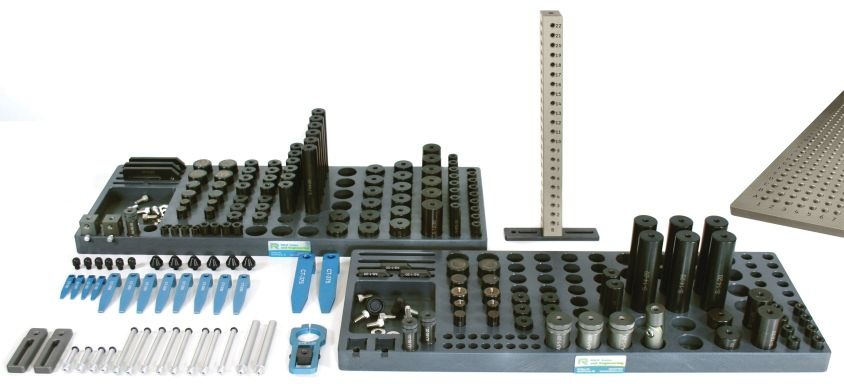 R&R 1/4-20 CMM Magnetic and Clamping Kit C