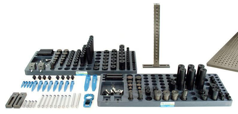 R&R M8 CMM Magnetic and Clamping Kit C