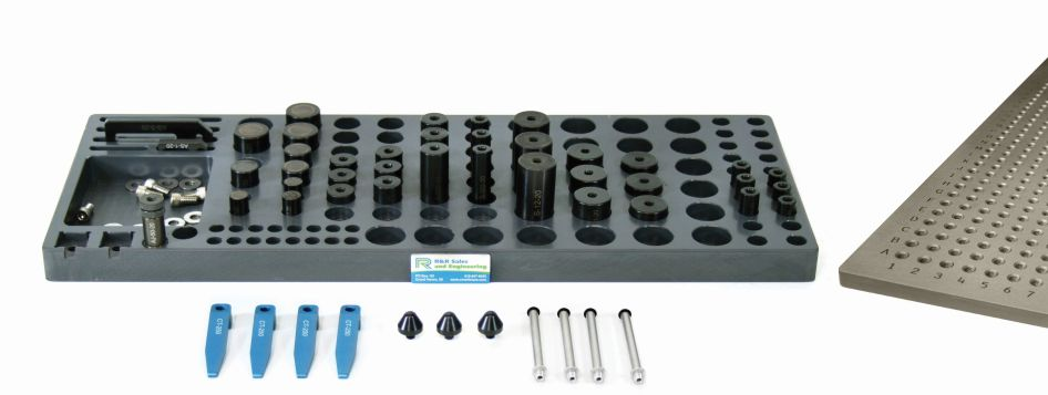 R&R 1/4-20 CMM Magnetic and Clamping Kit A