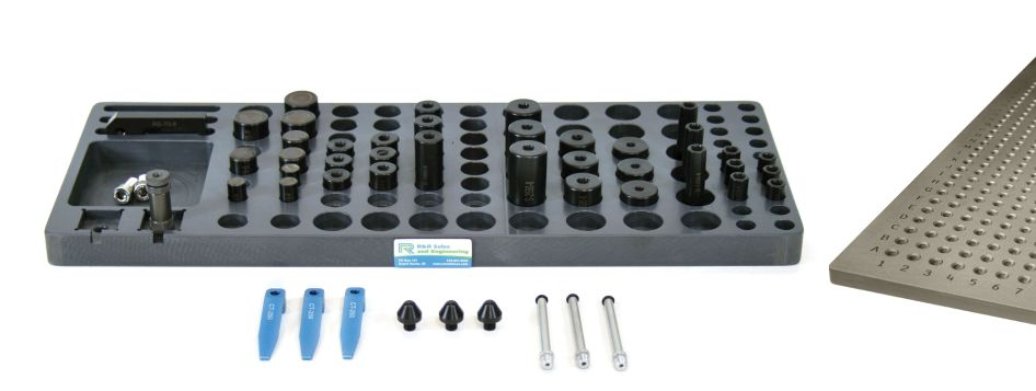 R&R M8 CMM Magnetic and Clamping Kit A