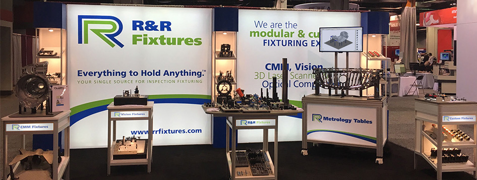 R&R trade show stand 2017