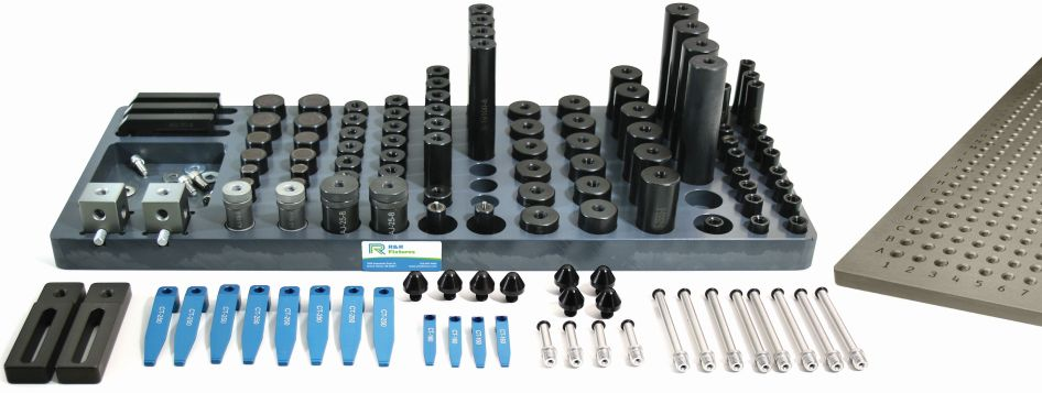 R&R M8 CMM Magnetic and Clamping Kit B