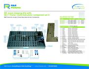 Data sheet for R&R vision fixtures M4 multi-hole plate options with QLC-1 and set A