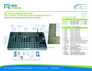 Data sheet for R&R vision fixtures M4 multi-hole plate options with QLC-2 and set A