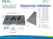 Data sheet for R&R CMM fixtures M4 plate options with clamping set A