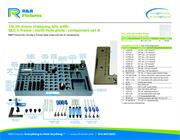 Data sheet for R&R vision fixtures 1/4-20 multi-hole plate options with QLC-2 and set A