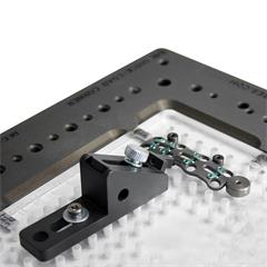 Application image for the micro sliding pusher clamp