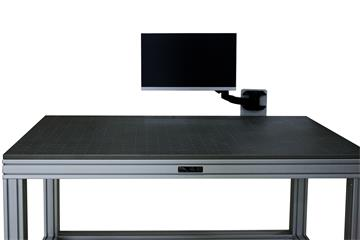 Brochure:  Metrology fixturing table with monitor