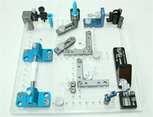 R&R Vision plate Fixture example setup