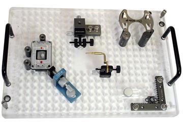 R&R vision fixture example setup with clamps